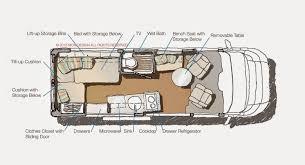 class b rv floor plans 25 wonderful motorhome layout design fakrub com