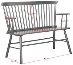 Settees Furniture Amh8513c Loveseats Settees Furniture By Safavieh