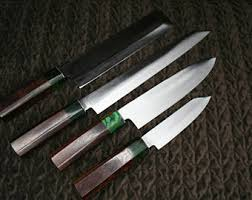 custom japanese kitchen knives etsy your place to buy and sell all things handmade