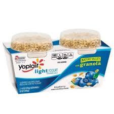 yoplait light yogurt ingredients yoplait light blueberry yogurt with nature valley granola shop