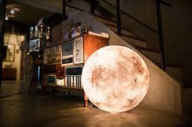 globe lights will illuminate your space just like the moon
