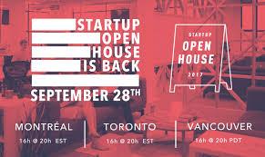 open startup open house 2017