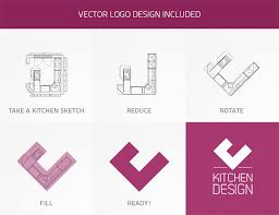 Kitchen Logo Design Kitchen Design On Behance
