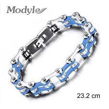 chain bracelet men images Zorcvens fashion bracelet men stainless steel biker bicycle jpg