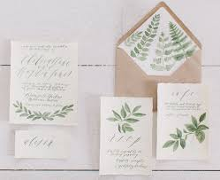 garden wedding invitation ideas botanical illustrations wedding invitations by written word