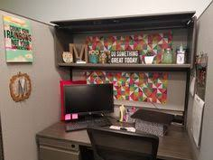 Classy Cubicle Decorating Ideas Cubical Decor Black White Gold And Mint Work Office