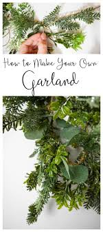 how to make your own diy garland garland ideas diy garland and