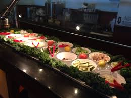 display of salads picture of kumo japanese seafood buffet parma