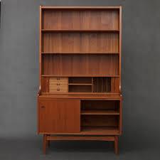 danish modern secretary desk danish secretary desk in teak wood johannes sorth 1950s
