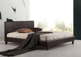 Cheap Leather Bed Frame Pu Leather Bed Frame White Graysonline