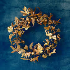 dresden ornament wreath front door wreaths terrain