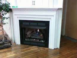 free standing ventless gas fireplace astonishing on modern home