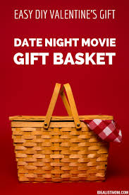 date gift basket ideas to make the date gift basket 4 easy steps