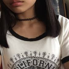 cute necklace chokers images Alien choker choker necklace chokers cute indie indie girl jpg