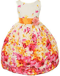 amazon com kids dream girls floral spring easter flower