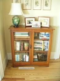 Wooden Bookcase With Doors Inspiring Bookcases With Doors Billy Bookshelf Doors U0026amp