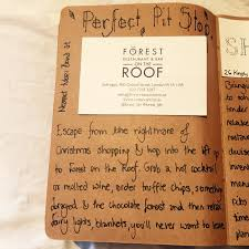 the little brown book forest on the roof