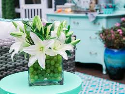 13 centerpieces filled with fruits and vegetables hgtv