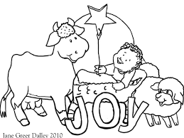religious christmas coloring pages coloring page for kids