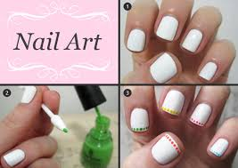 Awesome Easy At Home Nail Designs Photos Interior Design Ideas - Easy nail designs to do at home