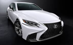 lexus is f sport 2018 2018 lexus ls 500 puts on sharp f sport kit for new york