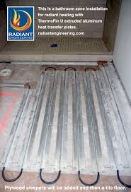 installing radiant heat under tile artistic color decor fresh