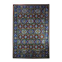 cotton indian rugs at novica