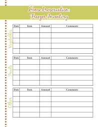 Kitchen Inventory Spreadsheet by Food Storage Inventory Sheets A Proverbs 31