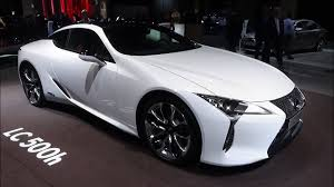 lexus lc owner s manual 2017 lexus lc 500h paris auto show 2016 youtube