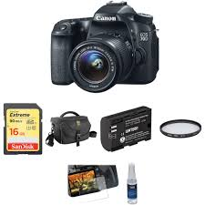 canon eos 70d dslr camera with 18 55mm f 3 5 5 6 is stm lens b u0026h