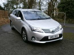 used toyota avensis estate for sale motors co uk