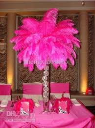 Ostrich Feather Centerpieces Wholesale by Feather Centerpiece Bling Rustic Classic And Traditional