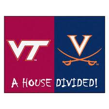 House Tech Tech Virginia House Divided Mat 34 X 45