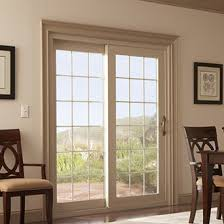 Patio Doors With Windows Alpine Westbridge 6500 Vinyl Sliding Patio Doors Bothell