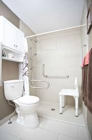 bathroom accessible university wet room and accessible shower with a shower chair