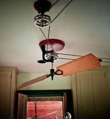 pulley driven ceiling fans antique belt driven ceiling fans design home decor ideas