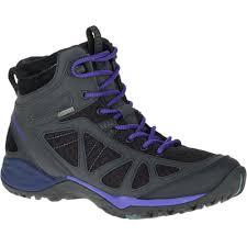 merrell womens ladies siren sport q2 mid gtx goretex walking boots