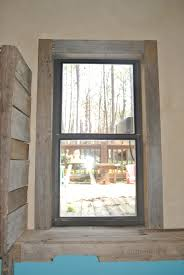 Modern Window Casing by Pallet Window Trim Pallet Mudroom Pinterest Window Trims
