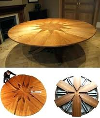 expandable table expandable round table ideas the homy design expandable round