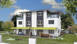 Doppelhaus Fertighaus 190 Wd Doppelhaus Walmdach Drevohaus
