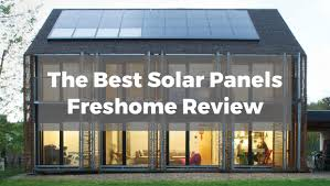 The Best Solar Panels For Your Home Freshome Review - Solar powered home designs