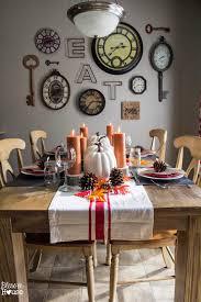 dollar store thanksgiving tablescape bless er house