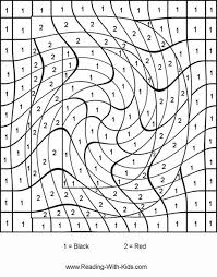 free printable number coloring pages math coloring pages by number 343 color by number for adults and