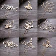 pearl hair pins forseven wedding pearl hair pins for gold bridal hair