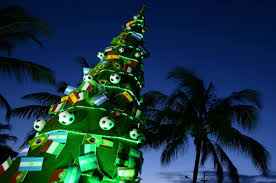 brazil tree lights decoration
