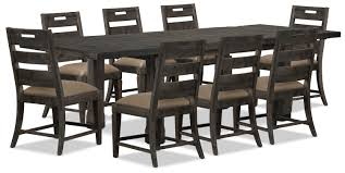 7pc Dining Room Sets Calistoga 9 Piece Dining Package The Brick
