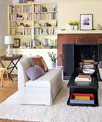 for the living room surprise storage for the living room real simple