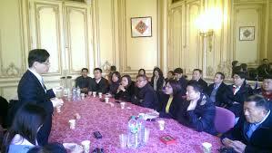 bureau de repr駸entation de taipei en 駐法國代表張銘忠大使接待高雄市議會康裕成議長訪團 駐法國台北代表處
