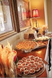 Table Buffet Decorations by Like The Buffet Idea Maybe We U0027ll Try It This Year Turkey Time