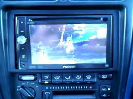 pioneer avh p4000dvd in 91 toyota mr2 youtube